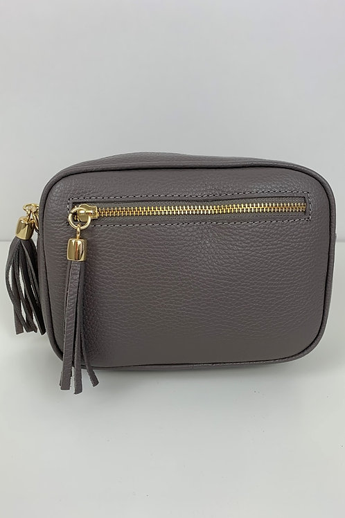 LUELLA SMALL CAMERA BAG - GREY