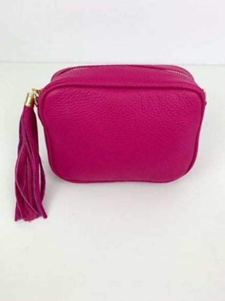 LUELLA SMALL CAMERA BAG - FUCHSIA