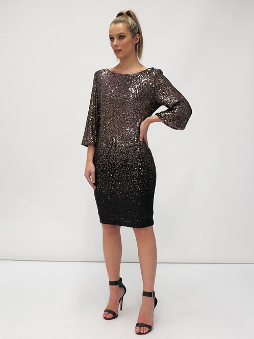 FEE G SEQUIN SHIFT DRESS