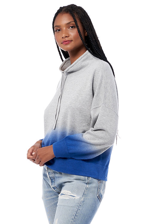 360 CASHMERE CORAL HOODIE