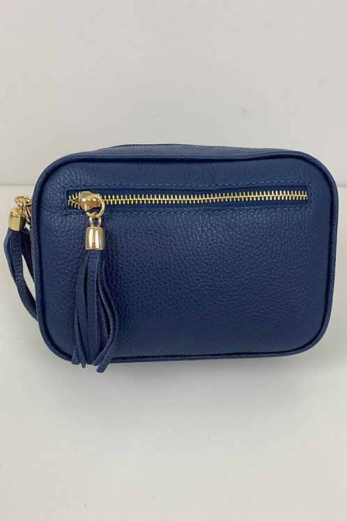 LUELLA SMALL CAMERA BAG - DARK BLUE