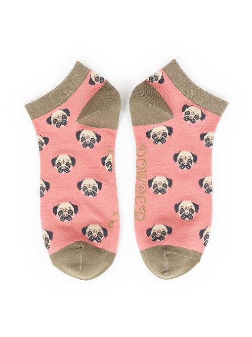 Powder Pug Ankle Socks