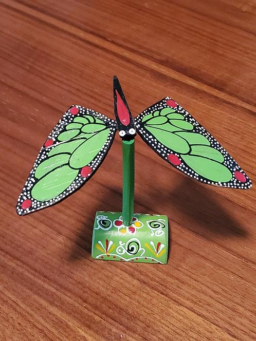 Butterfly single set - Green