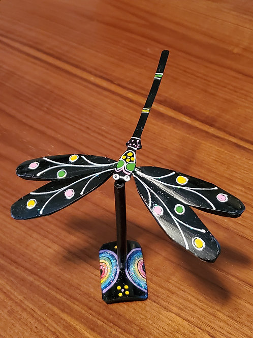 Dragonfly single set - Black