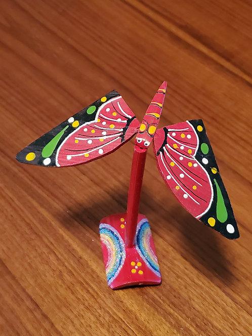 Butterfly single set - Red