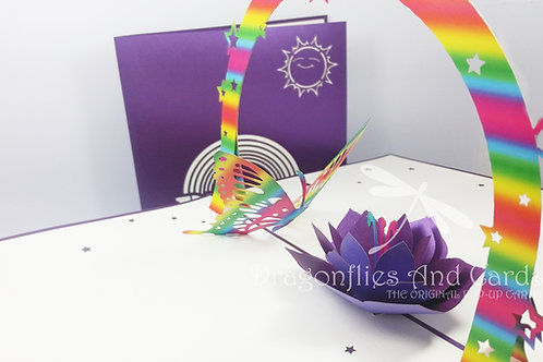 Pride - Rainbow Butterfly
