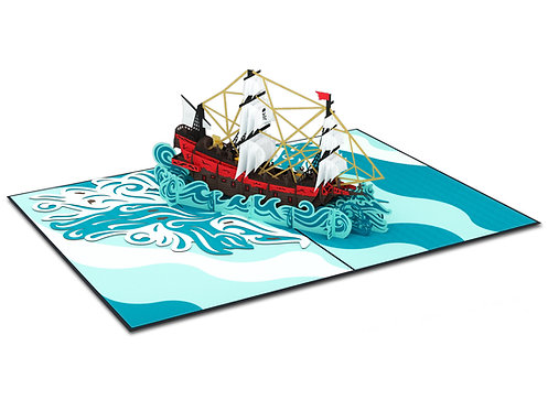 Pirate Ship ( Pre-Order)
