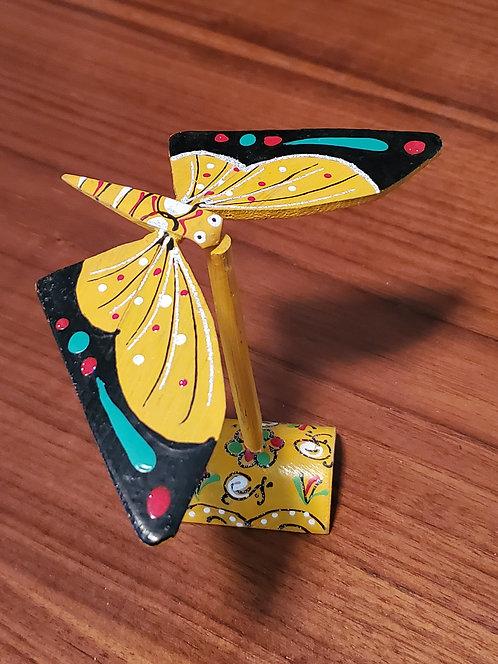 Butterfly single set - Yellow