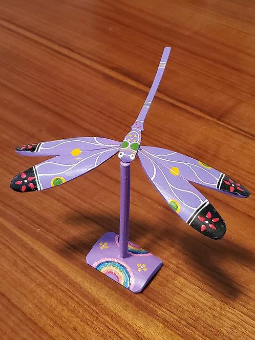 Dragonfly single set - Purple