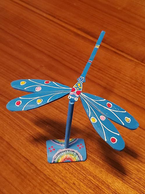 Dragonfly single set - Blue