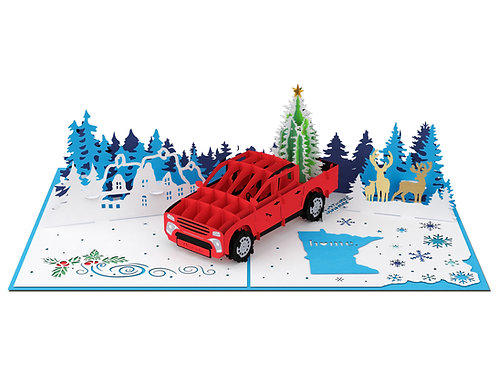 Christmas Pickup Truck Special Version