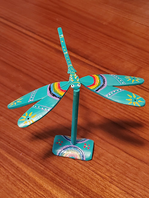 Dragonfly single set - Turquoise