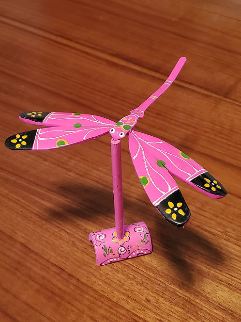 Dragonfly single set - Pink