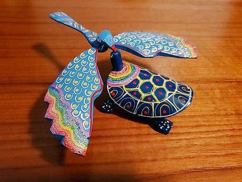 Phoenix And Turle Set - Blue