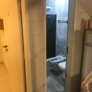 Banheiro Apto Standard - R$250,00 (diária sem o café da manhã)