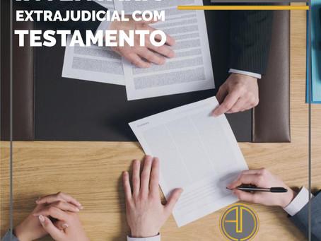 INVENTÁRIO EXTRAJUDICIAL COM TESTAMENTO