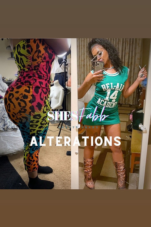 SF Alterations