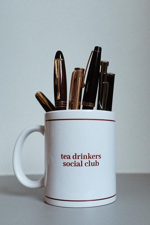 tea drinker social club mug