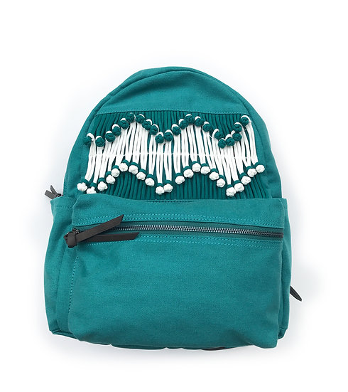 Chinese Knot Buttons Backpack