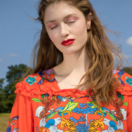 LOOK ON THE BRIGHT SIDE  Editorial by Dani Baker