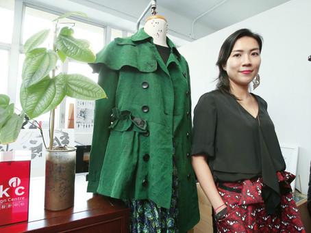 莨紗綢時裝融合新舊、結合中西