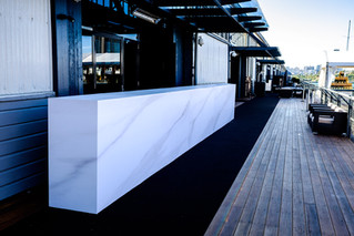 The Infamous Custom Made Marble Bar