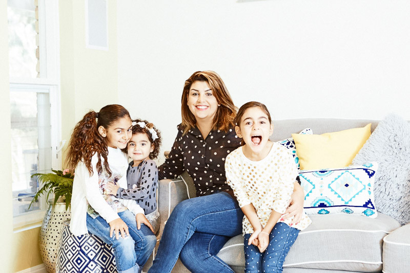 """It can be challenging to be a successful business woman whilst raising a family and Bernadette Georgiougives this advice for others thinking about starting their own enterprise.""""Do your research, seek advice, ask lots of questions,& make a plan!It's ok to change your goals along the way, be flexible, ignore the negative chatter from unsupportive people, believe in yourself & be brave""""."""