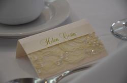 French Lace Wedding Stationery