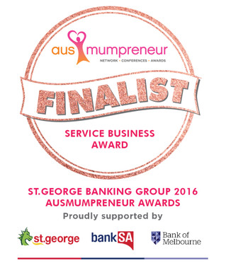 AusMumpreneur Awards Finalist 2016