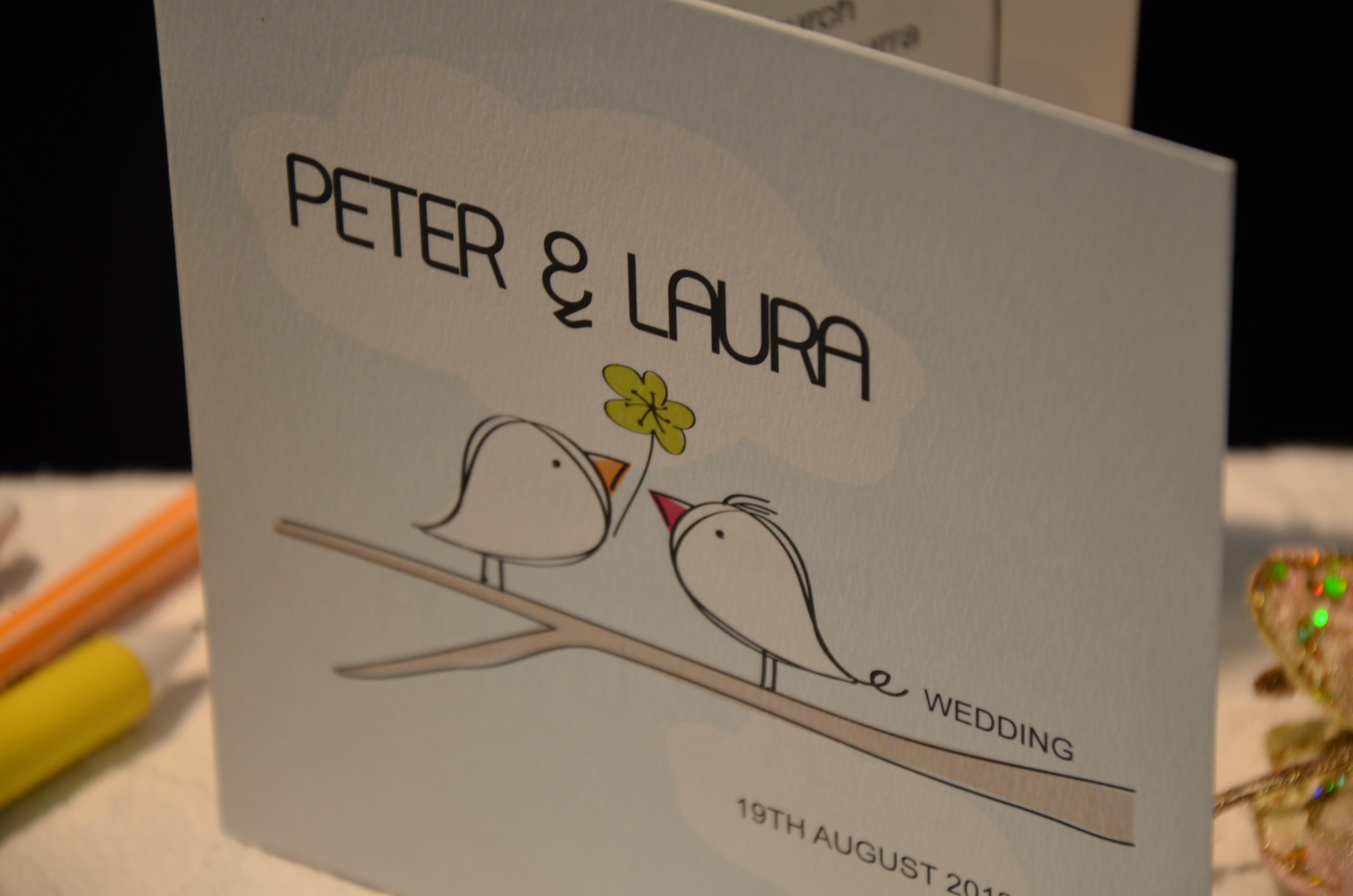 Cutie Pie Wedding Invitation