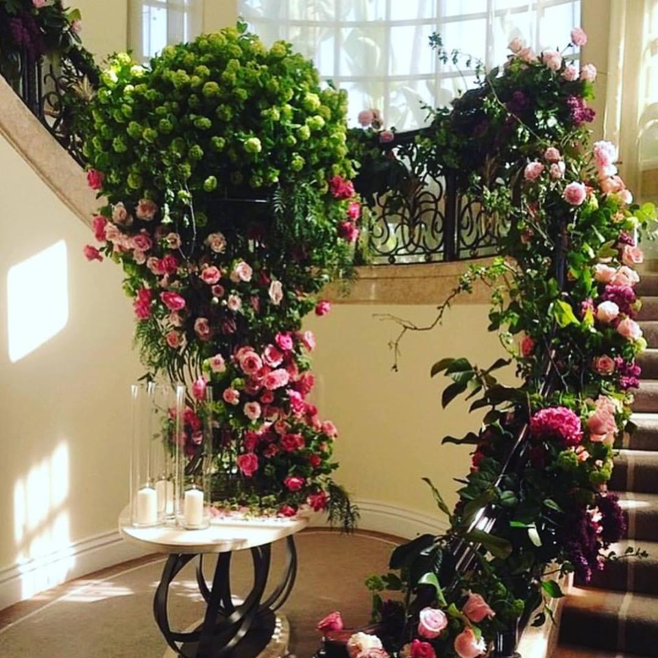 Stairwell Florals