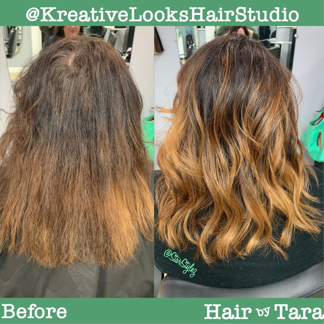 Color Refresh & Balayage by Artist Tara