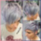 Silver/Lavender Pixie by Tara