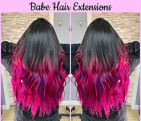 Tape Extensions & Flat Tip by Artist Tar