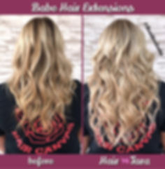 Highlights & Tape Hair Extensions