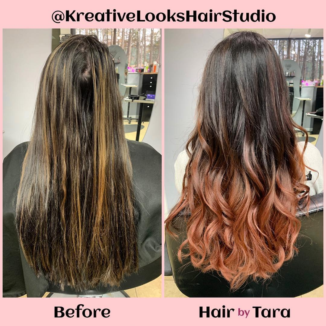 Before and After by Artist Tara