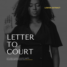 Letter to Court