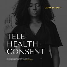 Telehealth Consent Template
