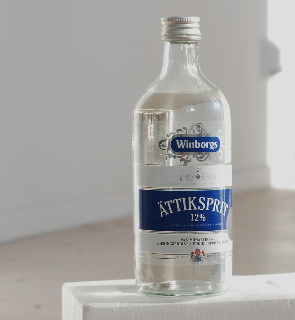 En flaska ättikssprit
