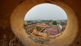 View of Trinidad from bell tower