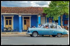 Vintage car in Vinales
