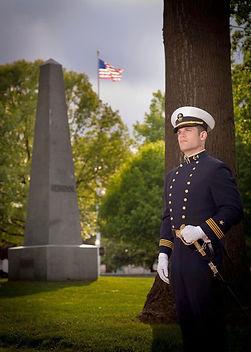 USNA Midshipman portrait