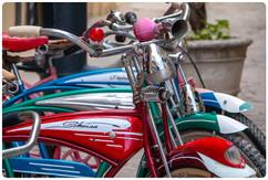 Schwinn Bicycles in Old Havana