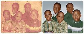 Photo copy and restoration