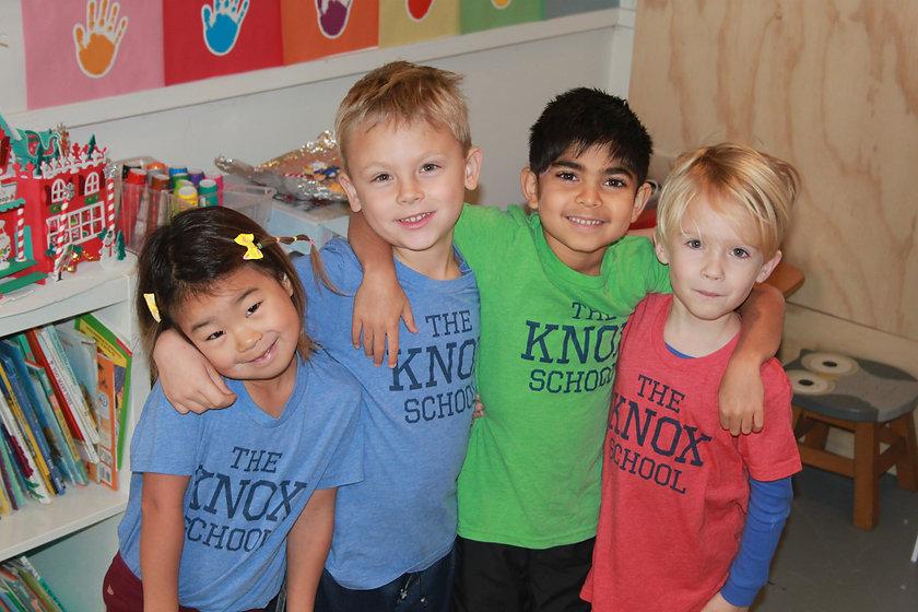 K kids in Knox shirts.JPG