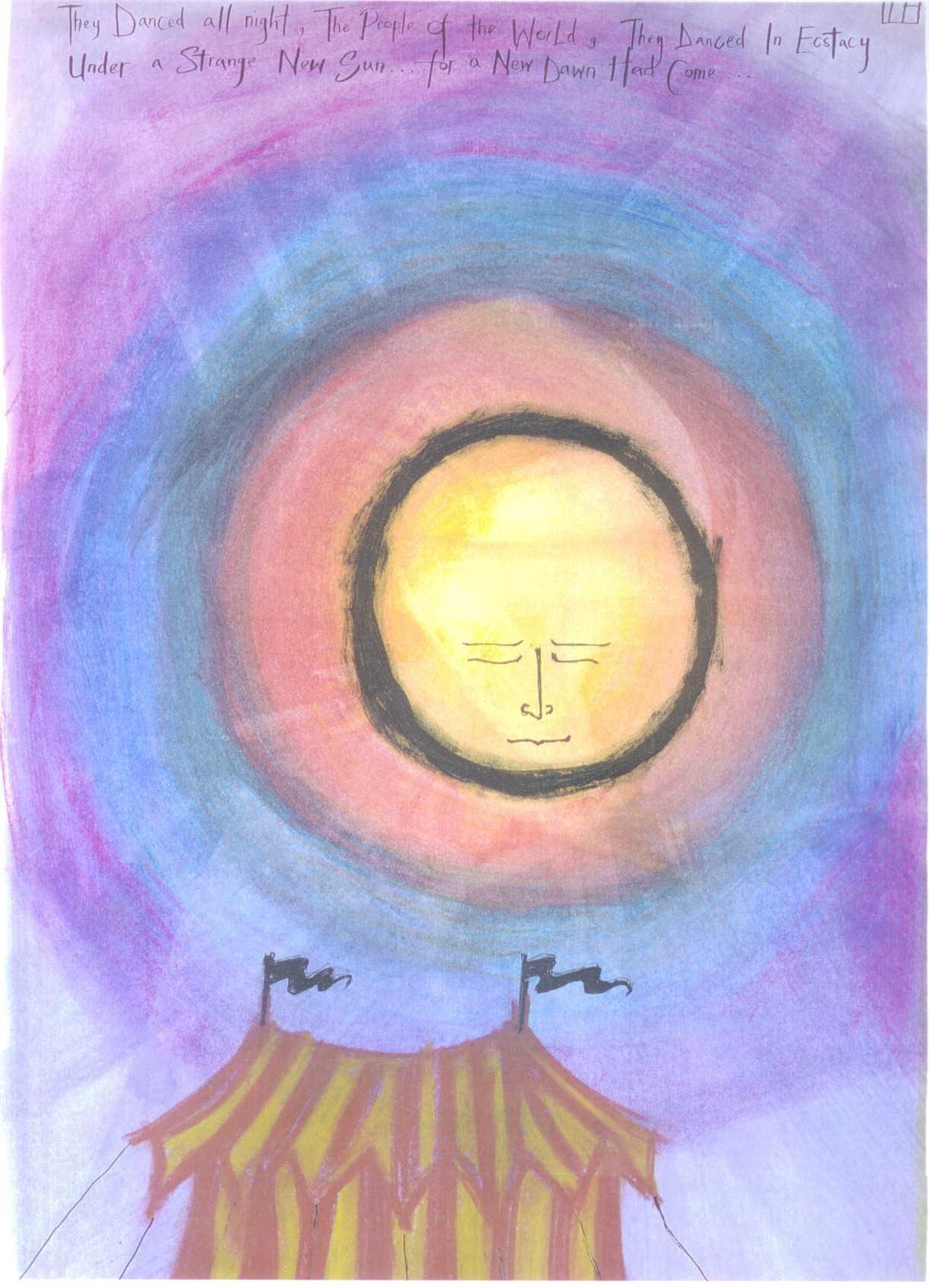 Sun Dance painting