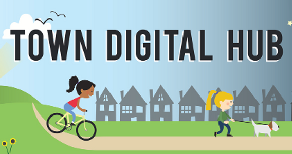 Town Digital Hub banner