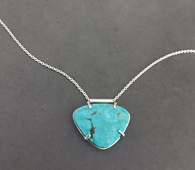 Arizona Turquoise and Silver Necklace