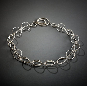 Concentric Circle Necklace, short