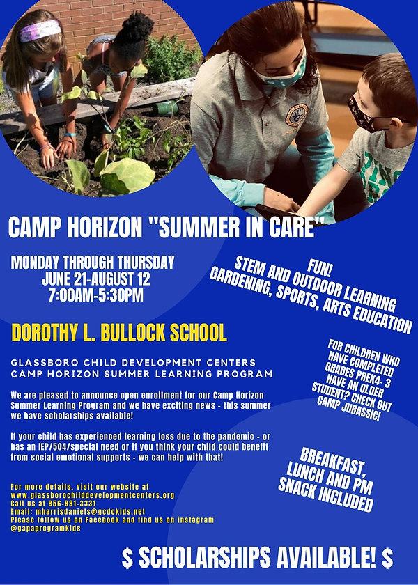 Camp Horizon Summer In Care Flyer.jpg